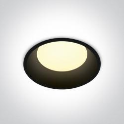One Light Oprawa LED czarna duża moc Maronas 10109D/B/C