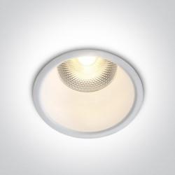 One Light Wpust sufitowy biały uniwersalny Alektora 10110FD/W/W