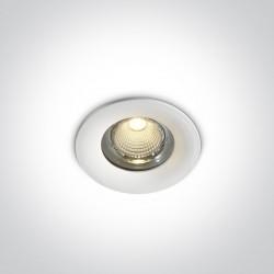 One Light Wpust LEDowy uniwersalny biały Symi 10110G/W/W IP65