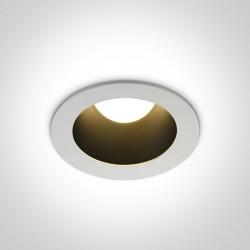 One Light Wpust LED biały czarny uniwersalny Volax 2 10112ED/W/B/W