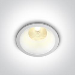 One Light Wpust LED czarny wymienny środek Erimi 10112L/W/W