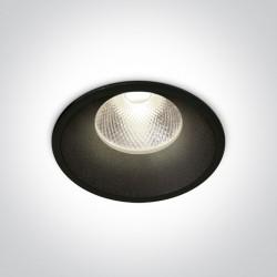 One Light Wpust sufitowy czarny Kalivia 10112TD/B/C