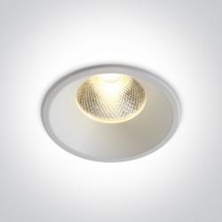 One Light Wpust sufitowy biały Kalivia 10112TD/W/W