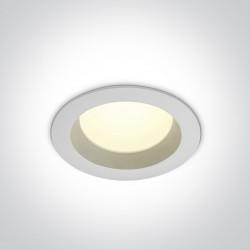 One Light Wpust LED do łazienki biały 13W Pomos 2 10113B/W/C IP54