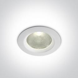 One Light Wpust LED biały klasyczny 15W Peplos 10115CA/W/C