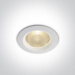 One Light Wpust LED biały klasyczny 15W Peplos 10115CA/W/W
