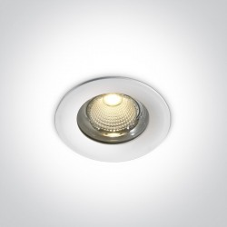 One Light Lampa LED biała do łazienki 15W Symi 2 10115G/W/C IP65
