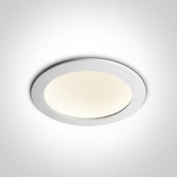 One Light Lampa LED biała 16W Nata 2 10116FD/W/C