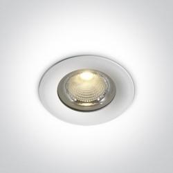 One Light Lampa LED zewnętrzna biała 20W Symi 3 10120G/W/W IP65