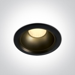 One Light Wpust LED zestaw czarny + mosiądz Marla 3 10120Z/B/W