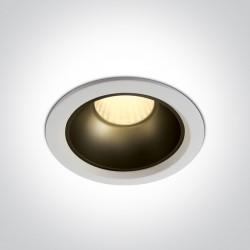 One Light Wpust LED zestaw biały + mosiądz Marla 3 10120Z/W/W