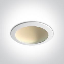 One Light Wpust lampa LED biała 22W Nata 3 10122FD/W/W