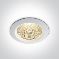One Light Lampa wpust LED do galerii Peplos 3 10130CA/W/W