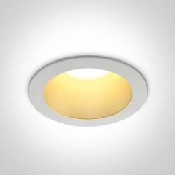 One Light Lampa wpust LED do mieszkania 30W Sarola 3 10130ED/W/BS/W