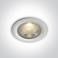 One Light Lampa wpust biała LED na zewnątrz Apliki 10130G/W/W IP65