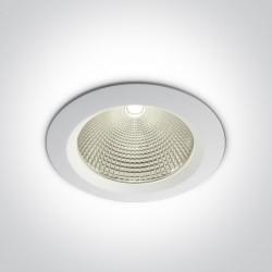 One Light Wpust lampa LED uniwersalna biała Peplos 4 10160CA/W/C