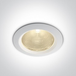 One Light Wpust lampa LED uniwersalna biała Peplos 4 10160CA/W/W