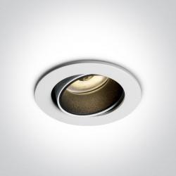 One Light Lampa LED wymienne pierścienie Medousa 11104K/W/W