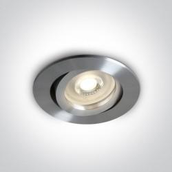 One Light Wpust aluminiowy GU10 Koraku 11105A1/A L