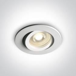 One Light Wpust biały GU10 Koraku 11105A1/W