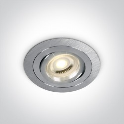 One Light Lampa wpust aluminium hotel Kaliana 11105ABG/AL