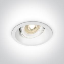 One Light Wpust regulowany biały Moniatis 11105CDG/W