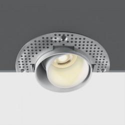 One Light Wpust biały regulowany do zabudowy Omodos 11105DTR/W