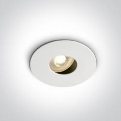 One Light Wpust biały do kuchni regulowany Arsos 11105E/W