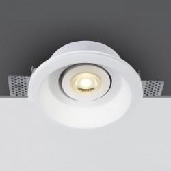 One Light Wpust do zabudowy biały gips sypialnia Praitori 11105GT4