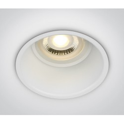 One Light Wpust lampa do kuchni biała Limnatis 11105TG/W