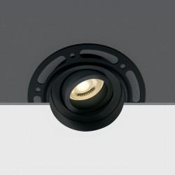 One Light Lampa czarna LED sypialnia Kapilio 11105TR/B