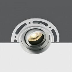 One Light Lampa biała LED sypialnia Kapilio 11105TR/W