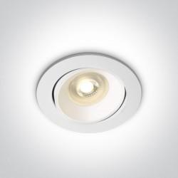 One Light Lampa biała kuchnia retro Arta 2 11105UA/W