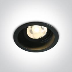 One Light Lampa LED czarna do sklepu wiązka Edesa 11106DB/B/W