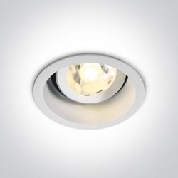 One Light Lampa LED biała do sklepu wiązka Edesa 11106DB/W/W