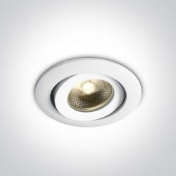 One Light Wpust biały ognioodporny Florina 11106PF/C