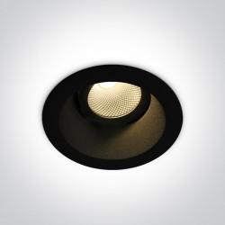 One Light Wpust czarny regulowany Koropi 11107FD/B/W