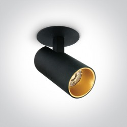 One Light Lampa LED do sypilani czarna Melisia 11107RA/B/W