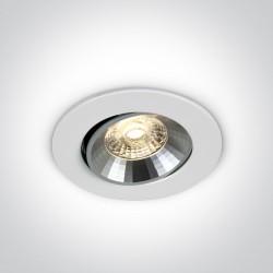 One Light Wpust LED biały uniwersalny Neapoli 11109KD/W/W