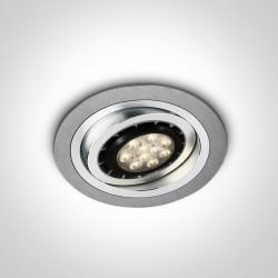 One Light Wpust sufitowy ciekawy design Faliro 11110AB/AL
