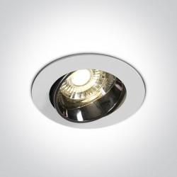 One Light Lampa LED biała do restauracji hotelu Ptolemaida 11110E/W/W