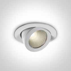 One Light Lampa LED do sklepu galerii Aliartos 11110F/W/C