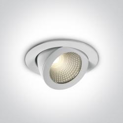 One Light Lampa LED do sklepu galerii Aliartos 11110F/W/W
