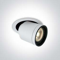 One Light Lampa do salonu sklepu regulowana Rodos 11110H/W