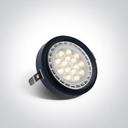 One Light Wpust czarny do skrzynek modułowych Trikala 11110TR/B