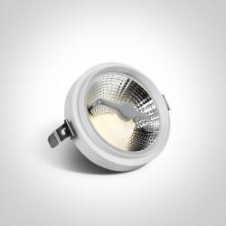 One Light Wpust biały do skrzynek modułowych Trikala 11110TR/W