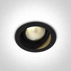One Light Lampa LED do sypialni czarna Agria 11112DL/B/W