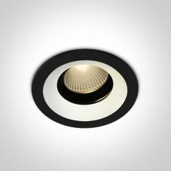One Light Wpust z wymiennymi pierścieniami Aliweri 11112H/B/W