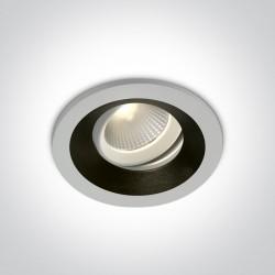 One Light Wpust z wymiennymi pierścieniami Aliweri 11112H/W/W