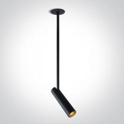 One Light Lampa LED loft czarna Amindeo 2 11112RB/B/W